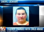 Teacher beat daughter