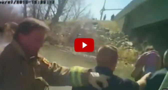 UNBELIEVABLE Footage of 18-Month Old Baby Being Rescued from Utah Accident