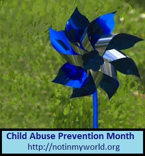 Poster for Child Abuse Prevention Month