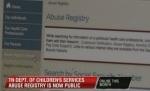 .jpg photo of Child Abuse Registry online