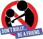 .jpg photo of words, Don' t Bully, Be A Friend