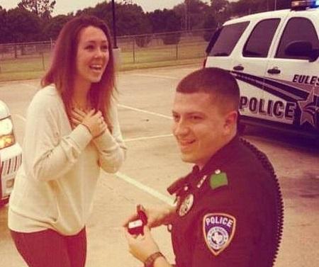 .jpg photo of Policeman and fiancee