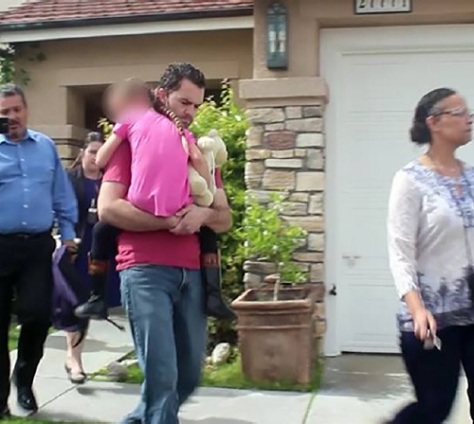 .jpg photo of Child being removed from Foster Care back to Family
