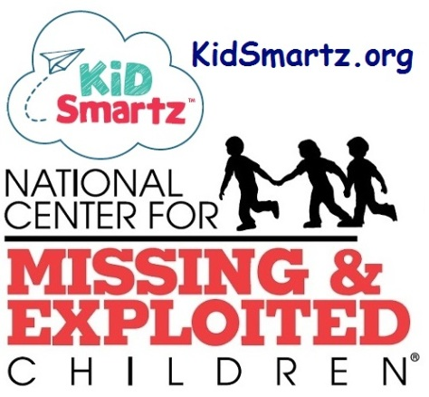 .jpf photo of NCMEC Logo and KidSmartz Logo