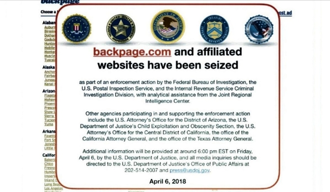 More Backpage Indictments Filtered Found On Research
