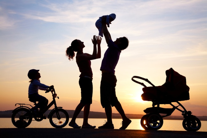 .jpg photo of Happy Family silhouette graphic