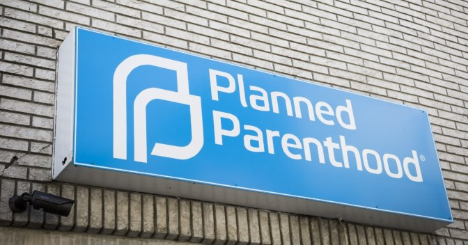 .jpg photo of planned parenthood where a blood trail of lies cover up the truth of murdered human beings paid for by WE THE PEOPLE