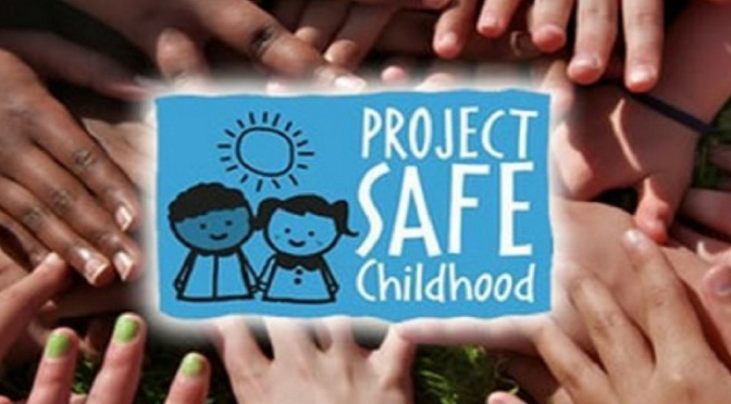 .jpg photo of DOJ Project Safe Childhood graphic
