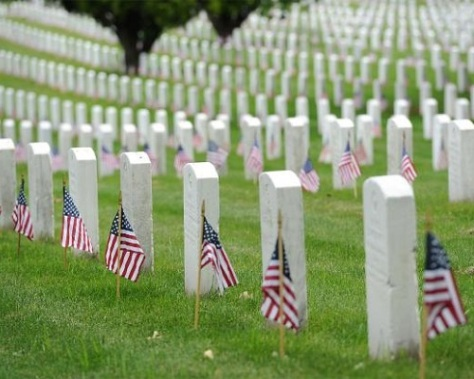 .jpg photo of Arlington National Cemetery where so many are buried that gave their lives for this country
