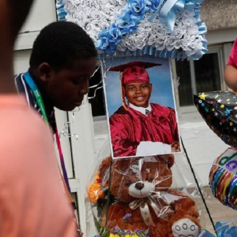 .jpg photo of boy who was shot in his own driveway