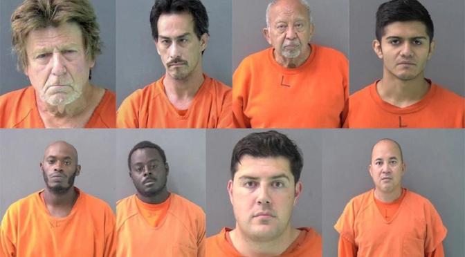 Eight Child Predators Arrested In TX